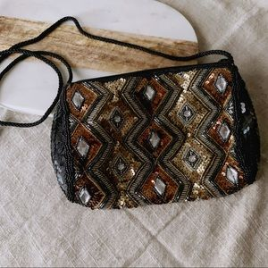Handbags - Boho Beaded Sequin Purse